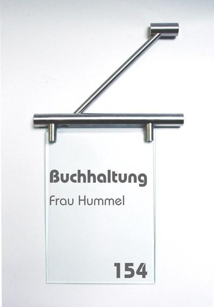 Fahnenschild | System Seeshaupt | 21 cm x 21 cm