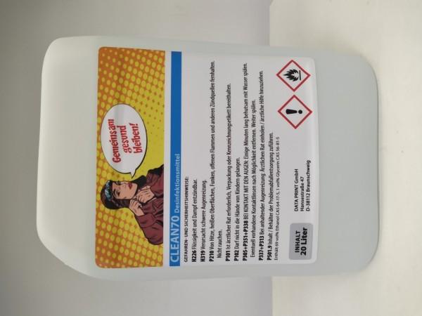 Desinfektionsmittel ALBA Clean 70 | zum Nachfüllen | 20 l